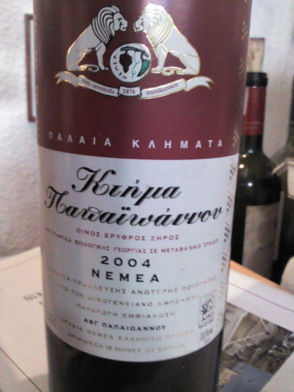 """Desde Grecia un agiorgitiko elaborado por Papaioannou, considerado el """"dios"""" del vino moderno"""