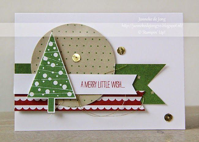 Stampin' Up! - A Merry little wish ... | by Janneke de Jong