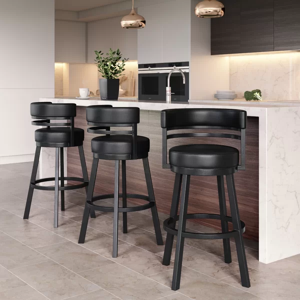 Chamisa Swivel Bar Counter Stool Counter Stools Stools For Kitchen Island Kitchen Bar Design