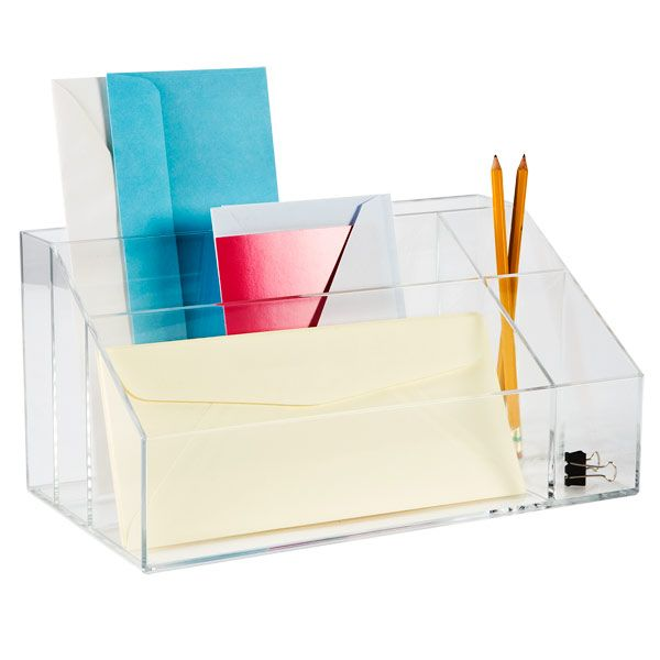 Best Of Lucite Desk organizer