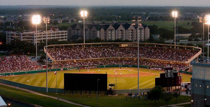 Olsen Field Texas A M University Sports Stadium Field