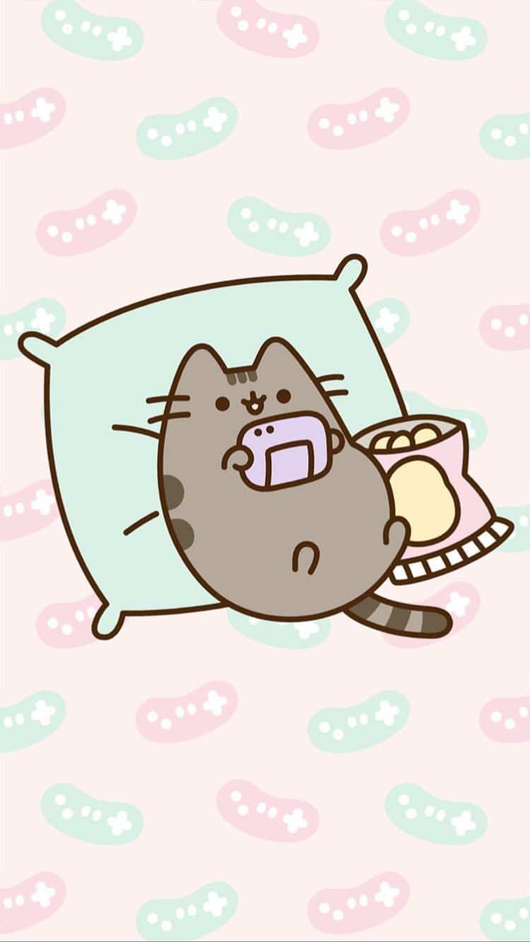 Pin By Cenlicenz On Pusheen Pusheen Cute Pusheen Cat Kawaii Wallpaper