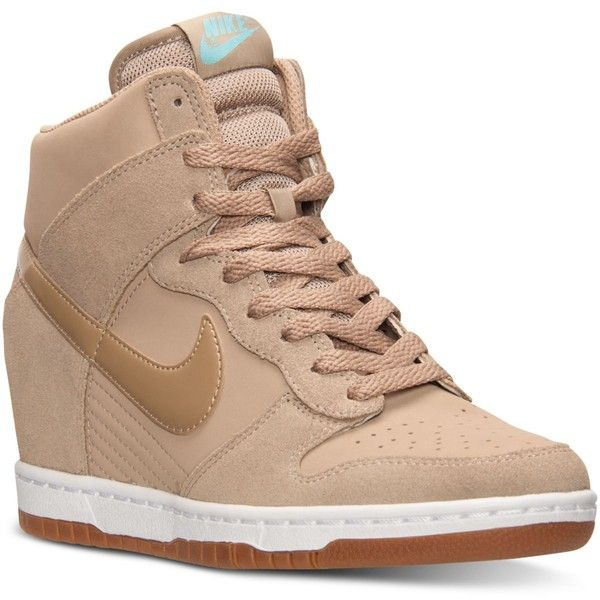 size 40 72e6d b8fcb ... where can i buy nike womens dunk sky hi essential casual sneakers from finish  line 120