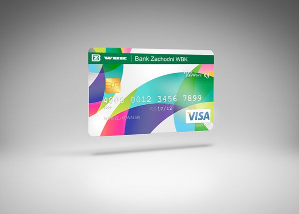 Credit Cards For Wbk Bank By Anna Markowska Via Behance Cards Credit Card Best Credit Cards
