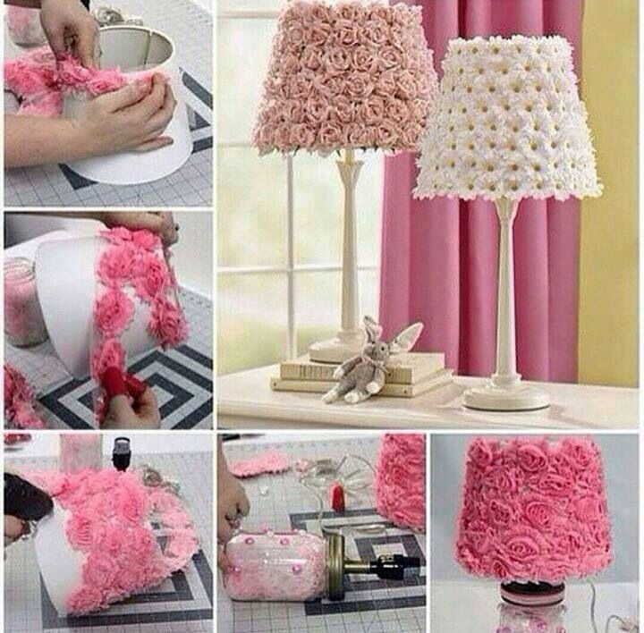 Aprende a hacer una lámpara para tu cuarto fácil | Deco extra ...
