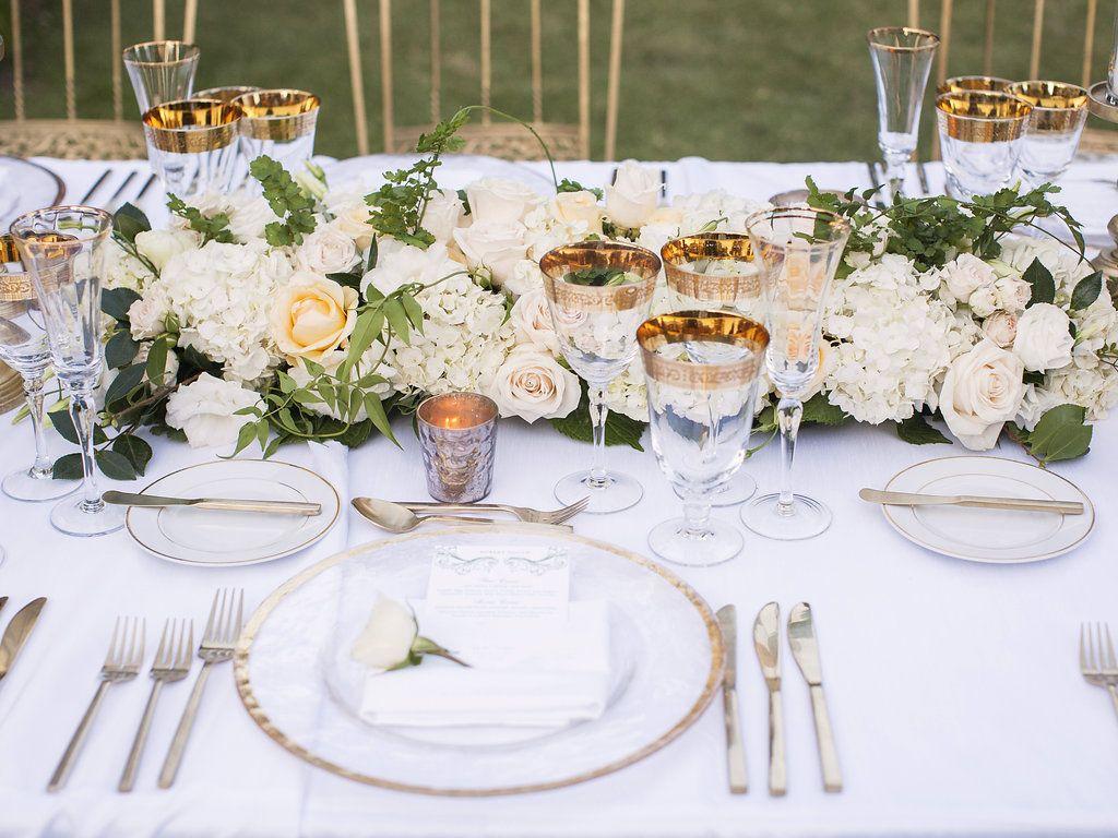 Private Estate Garden Wedding | Place Settings | Pinterest | Garden ...