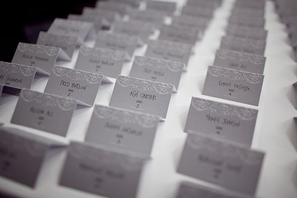 Wedding Place Cards A Beach In Punta Cana Dominican Republic