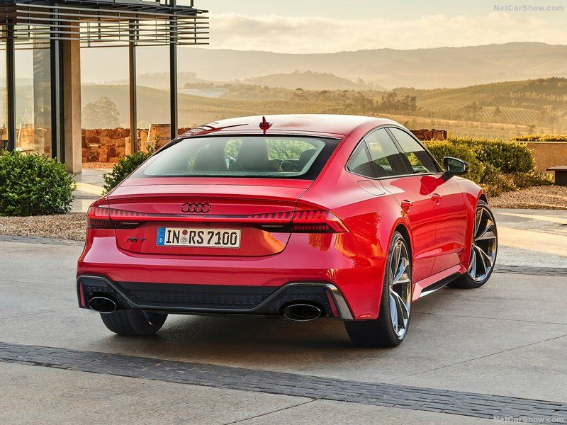 2020 Audi Rs7 4 0l Twin Turbocharged Hybridised 48v V8 441kw 0 100kph 3 5s Significant Upgrades Over It S Predecessor A Audi Rs7 Sportback Audi Audi Rs7