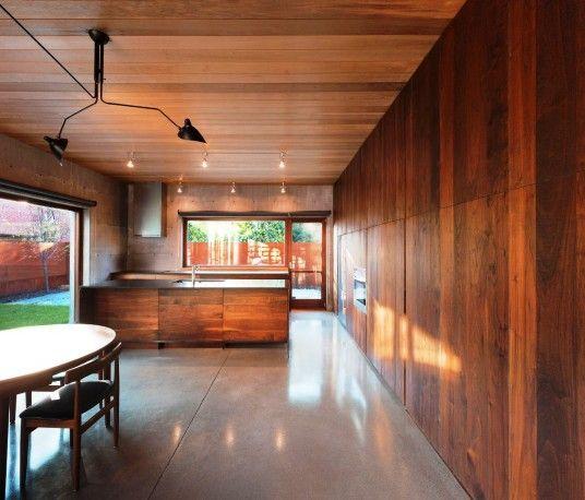 Modern Wood House Interior Decorating
