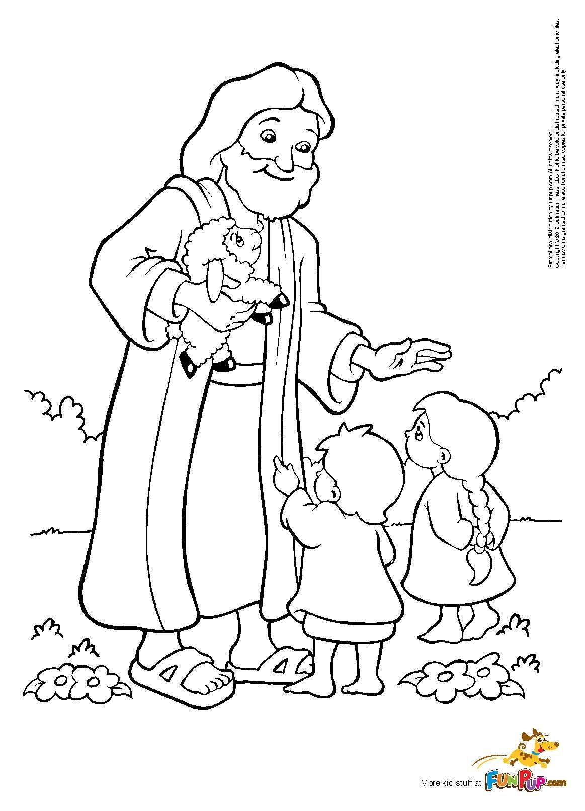 New Jesus Feeds Five Thousand Coloring Page