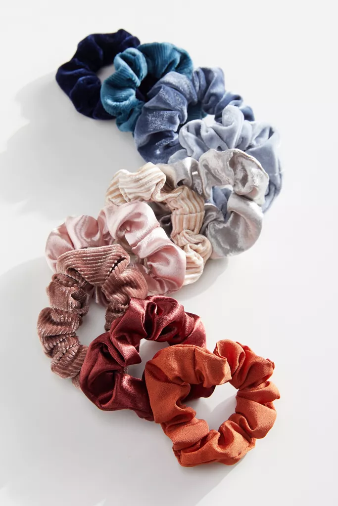 Urban Outfitters Perfect 10 Scrunchie Set