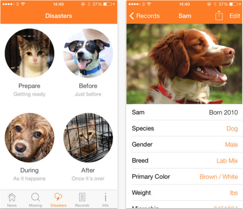 New App Helps Find Lost Pets Serious Our friends at the