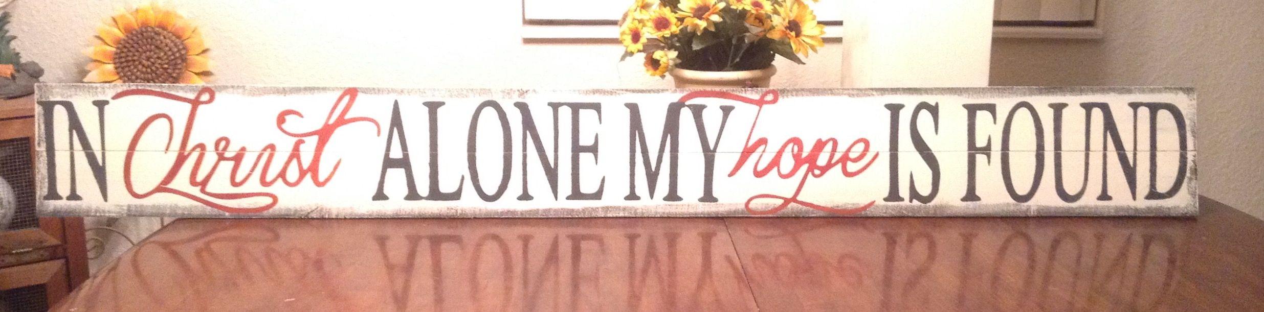 Inspiration custom pallet signs by Jennifer