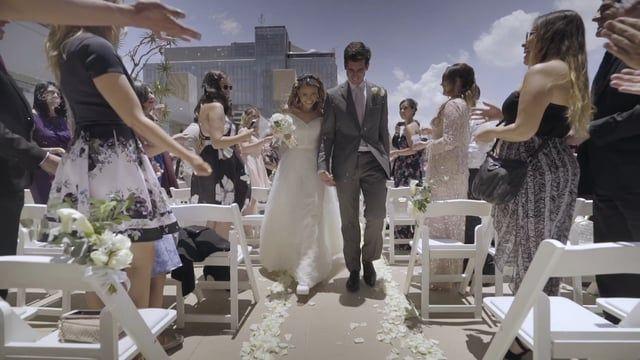 Elyanne & Borja Wedding Teaser  Music by: The Town Shop - BeFun  www.filomenamx.com JW Marriot Mexico City Santa Fe Mexican Wedding bhldn dress