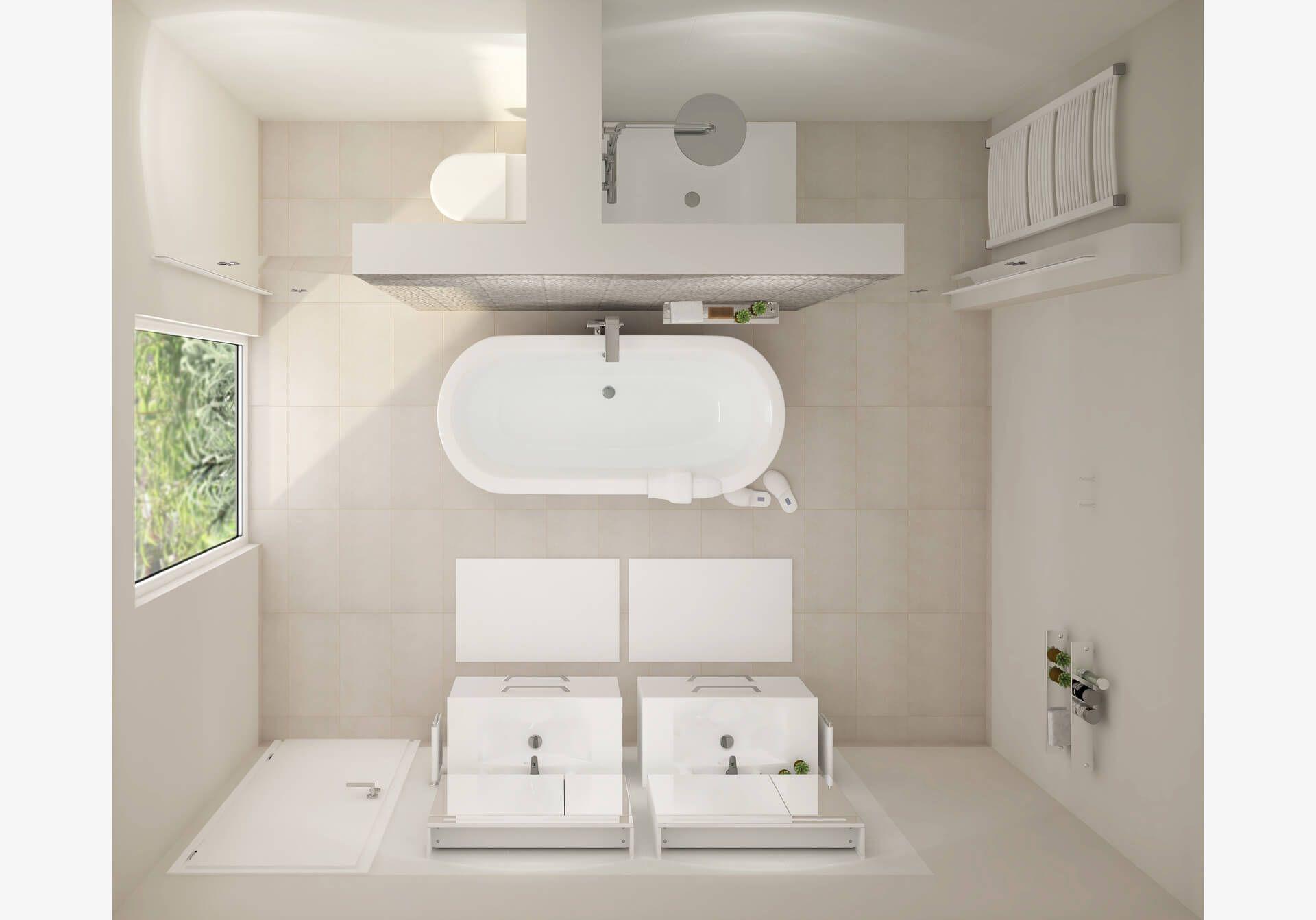Badplaner Jetzt Badezimmer Planen Mit Obi Helle Badezimmer Badezimmer Planen Badezimmer Grundriss