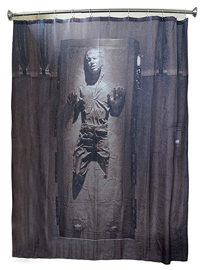 Amazon Com Robe Factory Star Wars Han Solo In Carbonite Shower