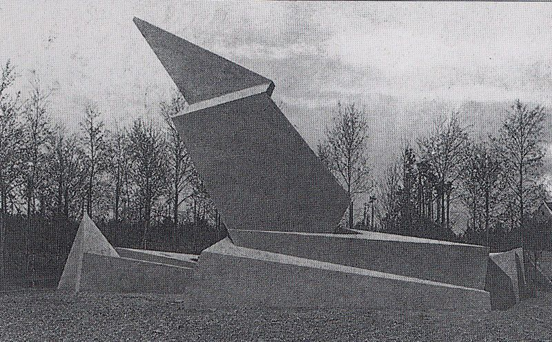 walter gropius monument to the march of death 1920 20s