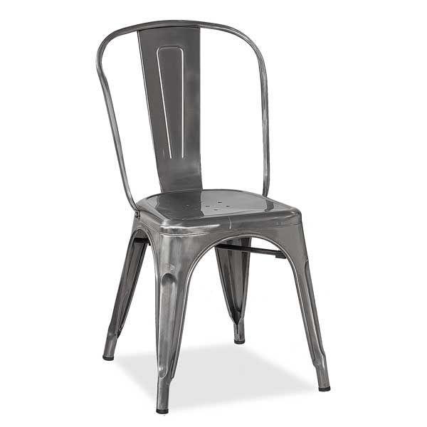 Metal Silver Chair YD 440SIL American Furniture Warehouse Patio Idea