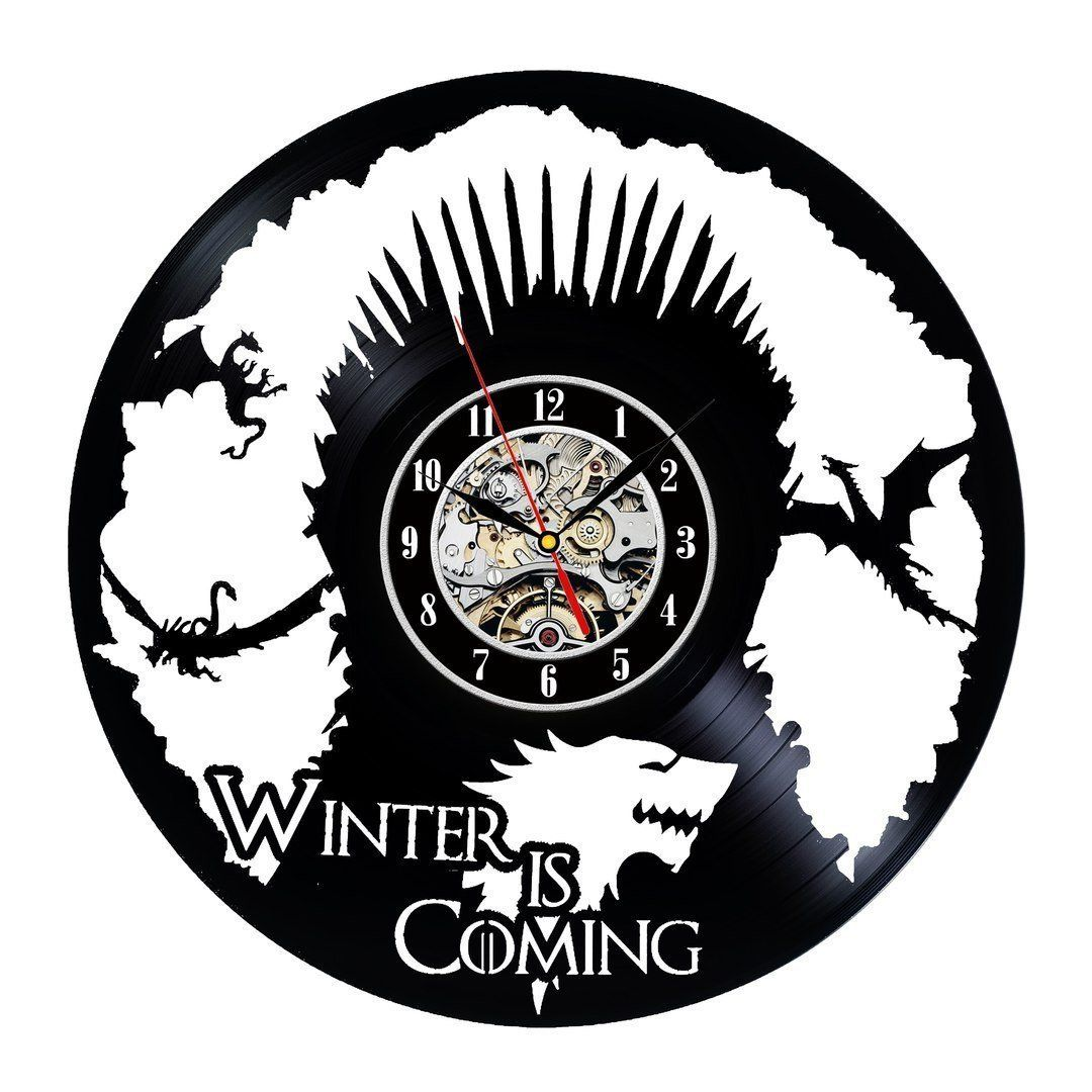 Winter Is Coming Art Game Of Thrones Vinyl Record Wall