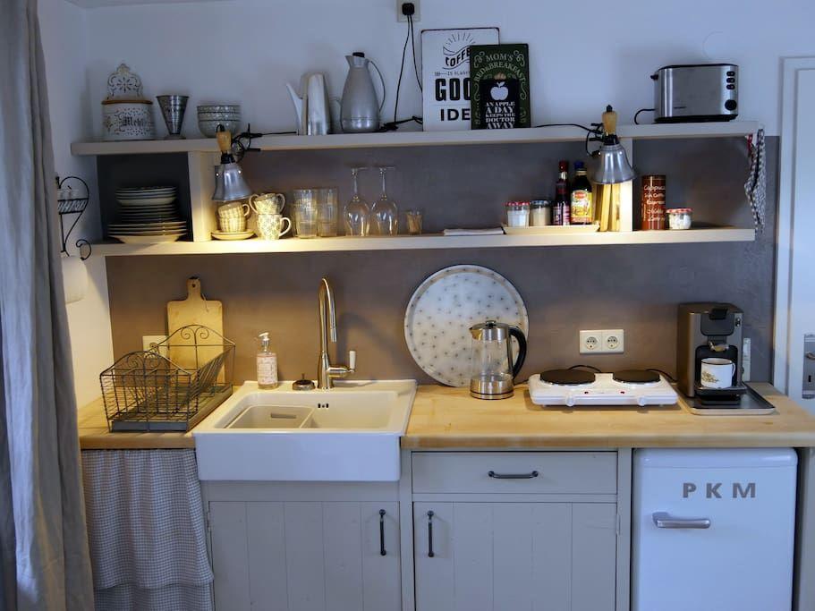selbstgebaute küche kuchyně küche