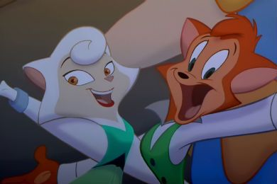 A Couple To Root For Cats Don T Dance Danny And Sawyer Cats Dont Dance Sawyer Couple Cartoon