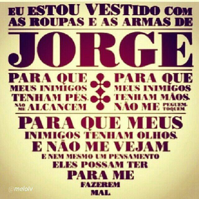 Cartazes Musicais São Jorge Spirituality Faith E Prayers