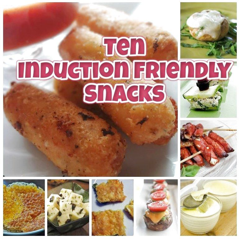 Ten Low Carb Induction Friendly Snack Recipes Shared On