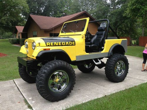 Purchase Used 1979 Jeep Ccj7 V8 2nd Owner Recent Frame Off With 15 In Lift In Jacksonville Florida United States For Us 14 000 00 Jeep Cj7 Jeep Cj Jeep