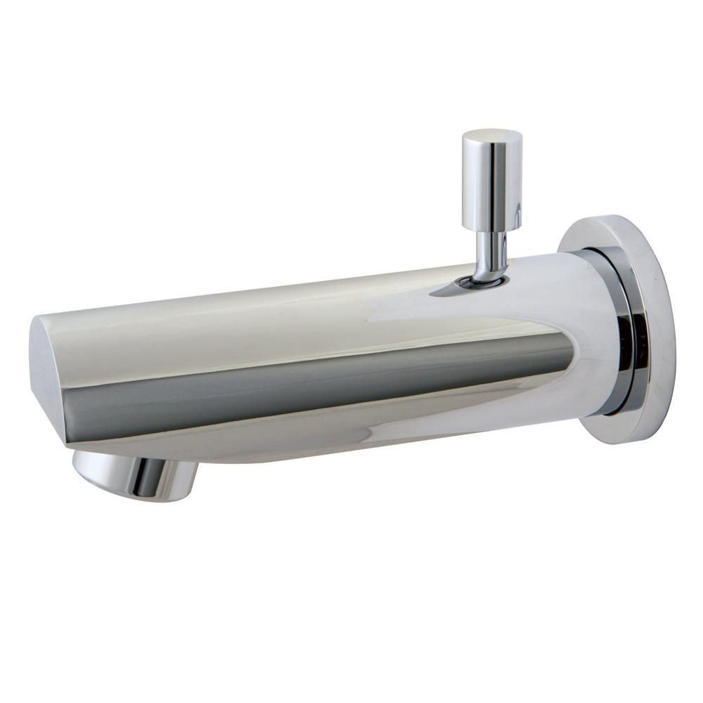 Photo of Kingston Brass Bathroom Accessories Chrome Concord 6″ Diverter Tub Spout K8184A1
