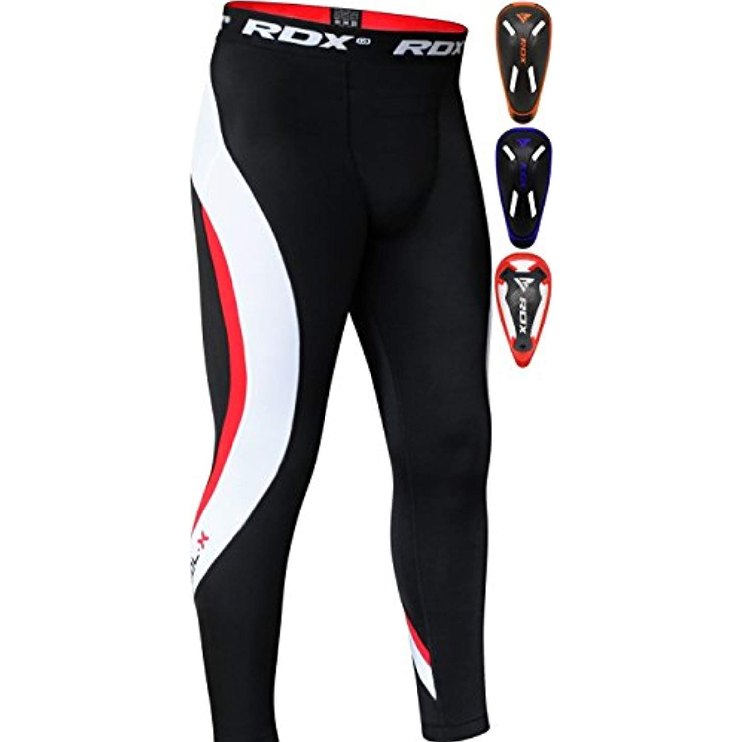 RDX MMA Thermal Compression Shorts Boxing Tights Training Base Layer Fitness Running Cycling Gym Exercise Workout