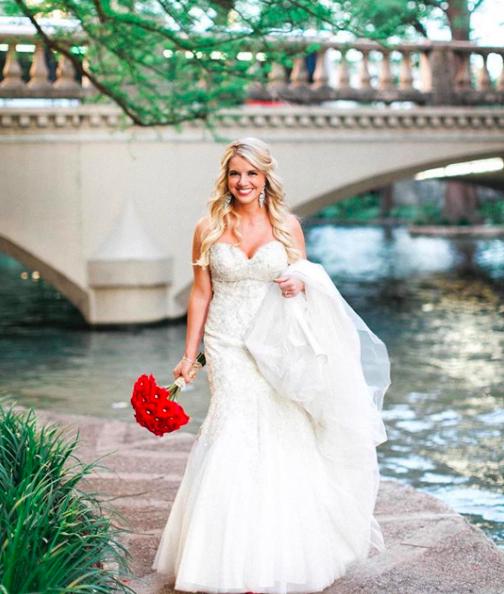Real Brides In Wedding Dresses: Mariela Wedding Dress