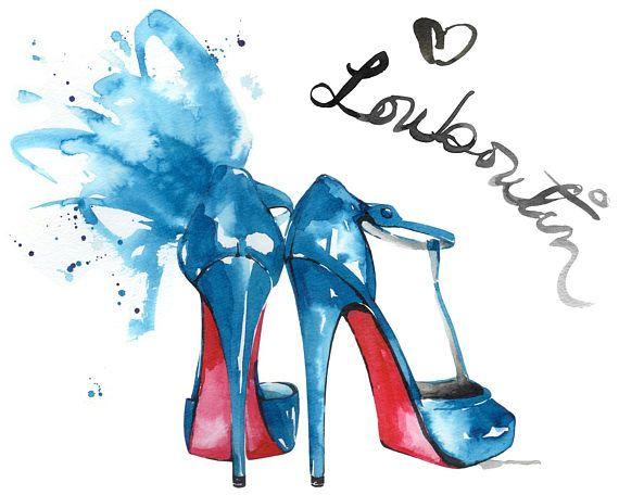 bb74b5e6b53b Christian Louboutin Fashion Illustration