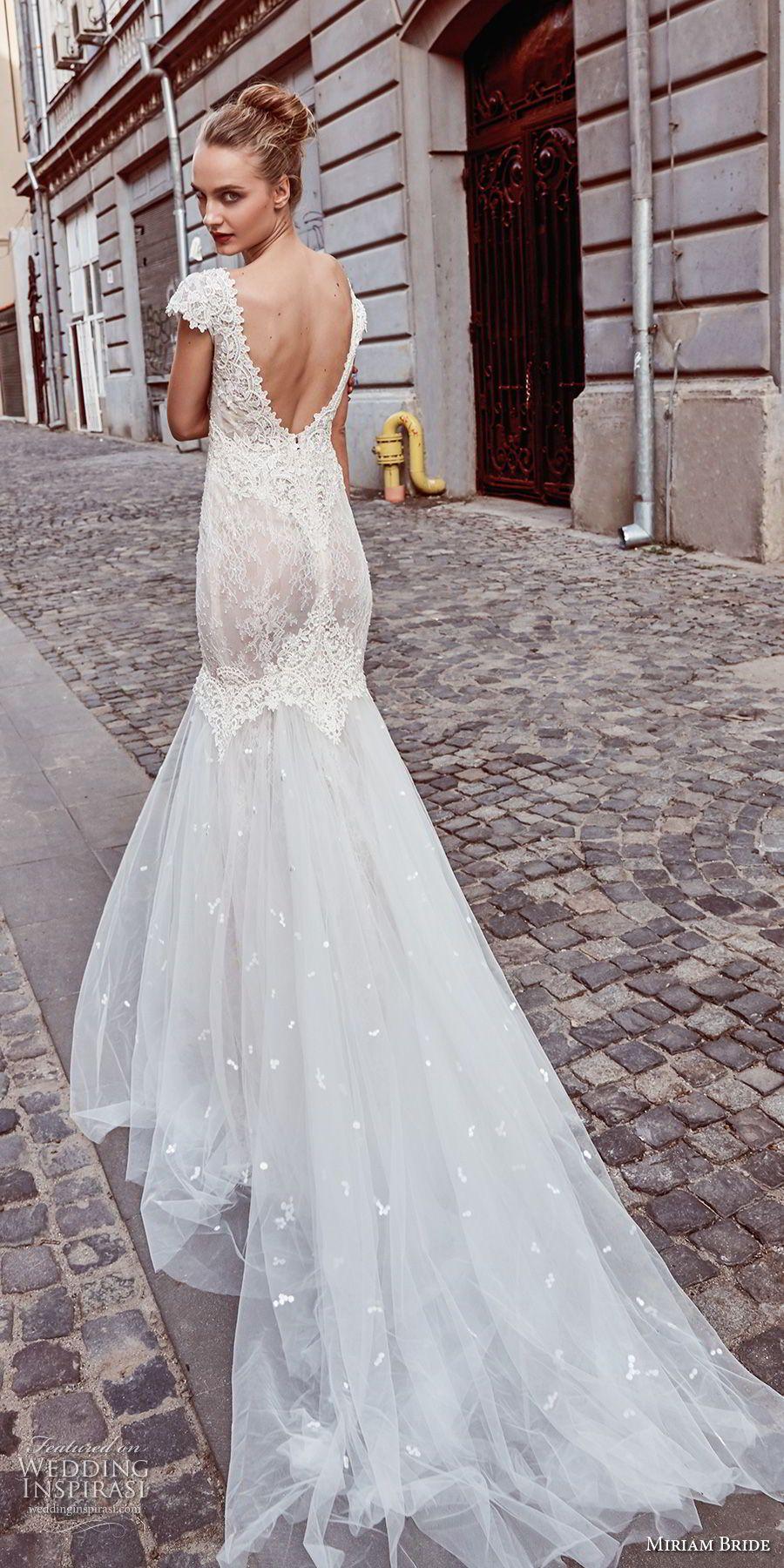 Miriams Bride 2018 Wedding Dresses   Bateau neckline, Mermaid ...
