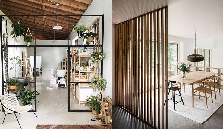 Een grote ruimte gezellig maken? Probeer een roomdivider