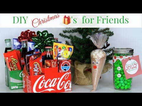 Easy And Cheap Diy Christmas Gifts For Friends Brooklynandbailey Diy Christmasgif Easy Diy Christmas Gifts Diy Holiday Gifts Inexpensive Christmas Gifts