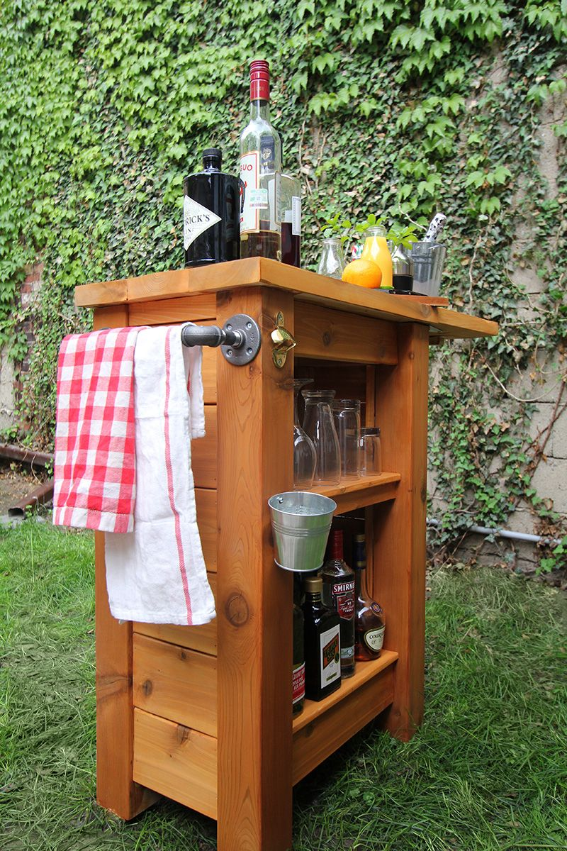 diy cedar outdoor bar 200 check cedar lumber prices gift