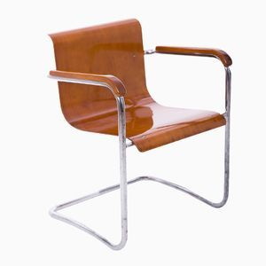 Czech Tubular Steel Chair by Hana KucerovaZaveska for