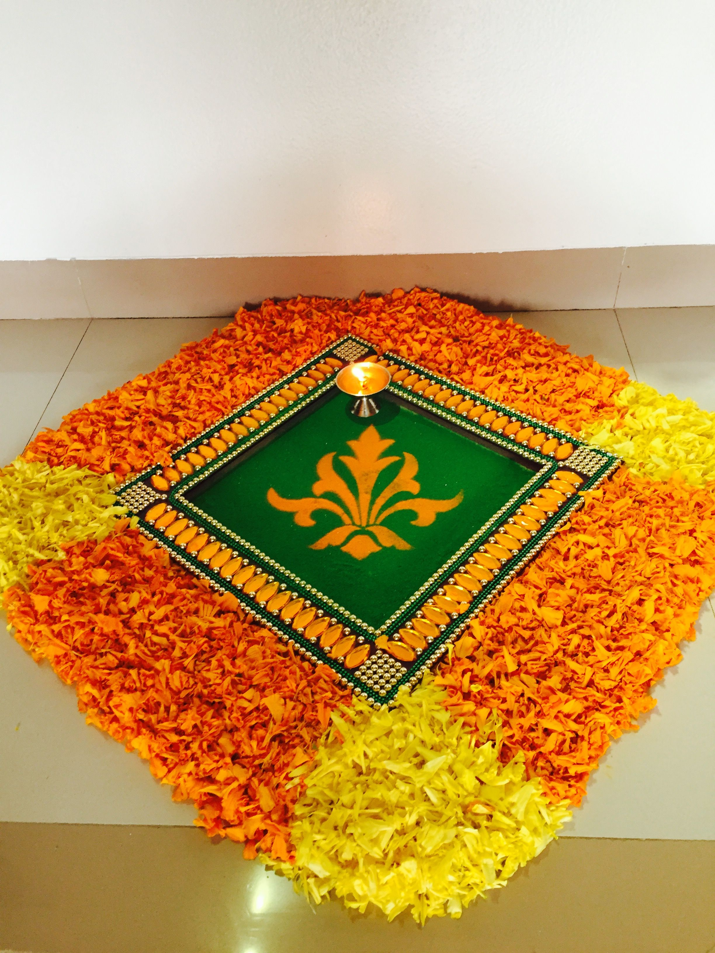 My art Rangoli designs, New rangoli designs, Beautiful