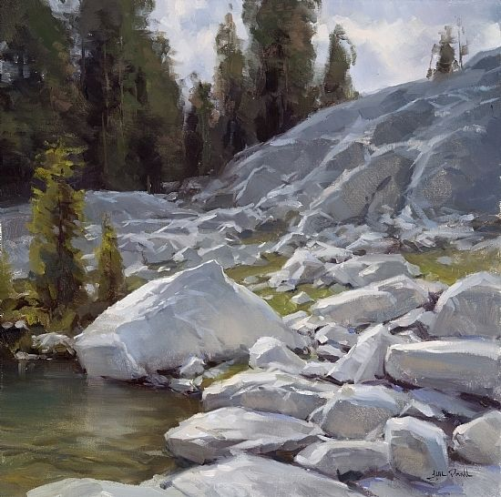 Old Pipe Lake by Jesse Powell Oil ~ 20 x 20