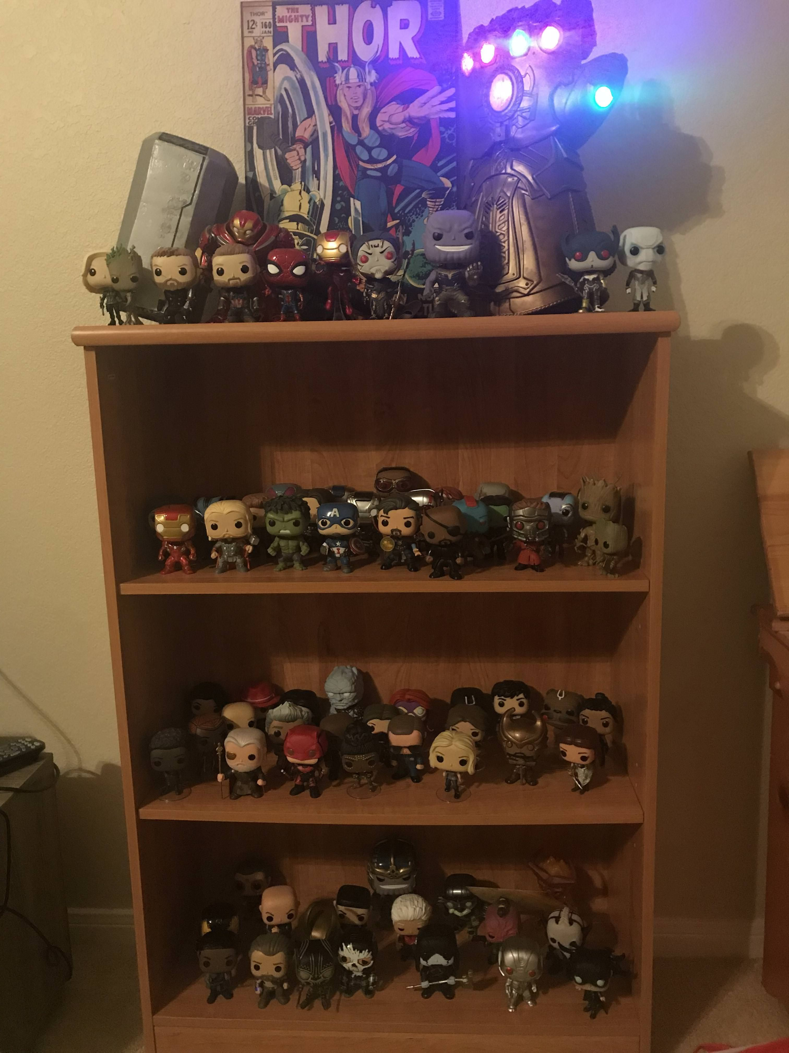 740852718a9 This is my MCU Funko POP Collection