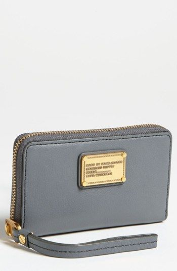 Marc By Jacobs Classic Q Wingman Phone Wallet Available At Nordstrom