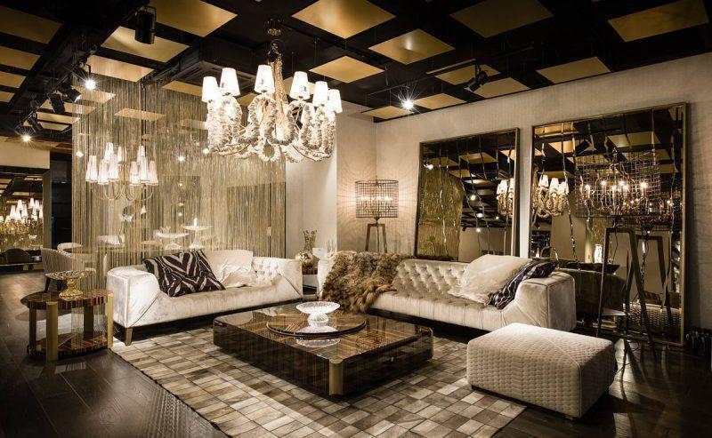 Italienische Designermöbel Für ästhetische Einrichtung Innendesign    Wohnzimmer Dekorieren Grun