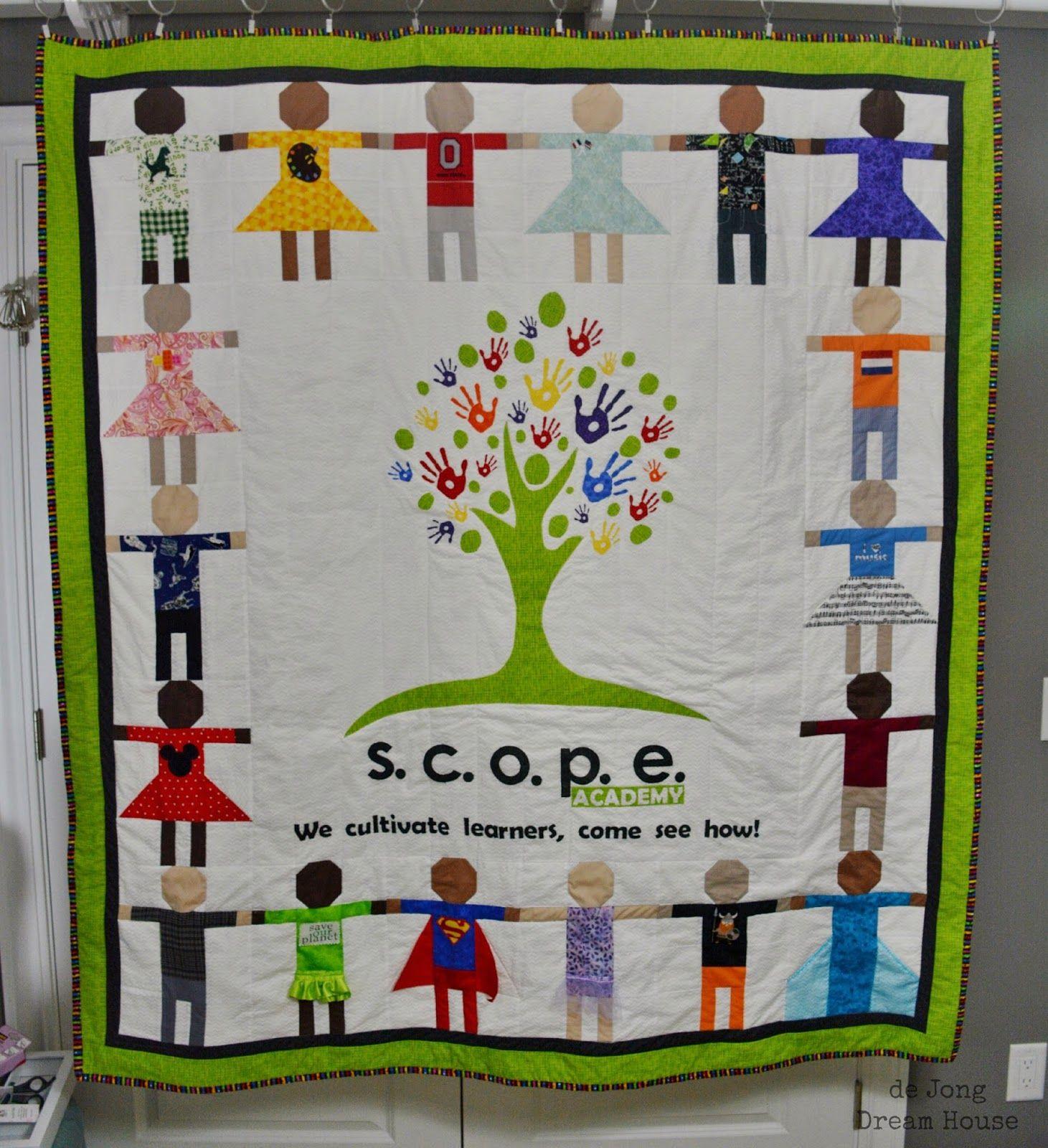 De Jong Dream House Quilt 40 Little Learners Quilt