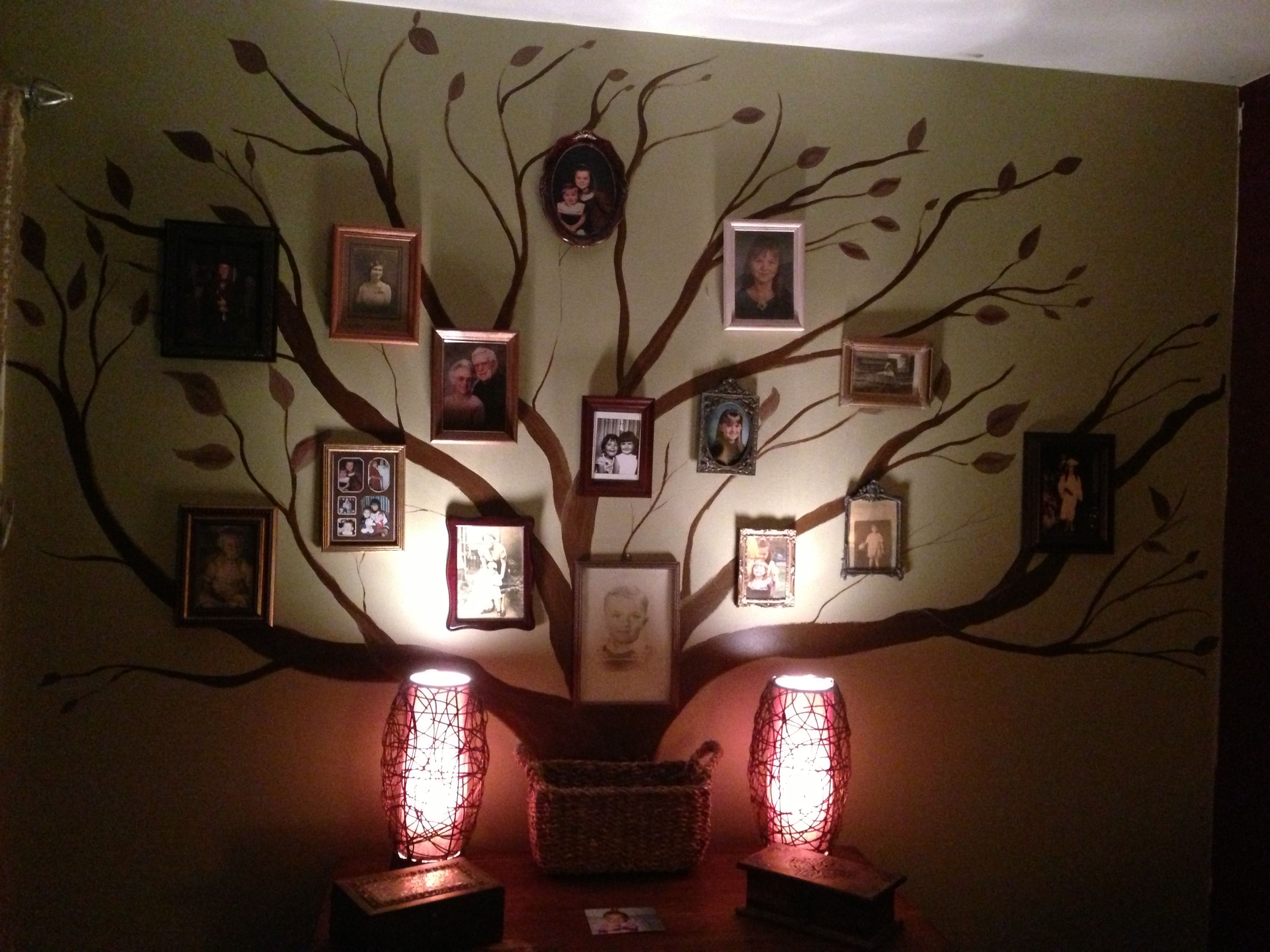 Family tree DIY wall art