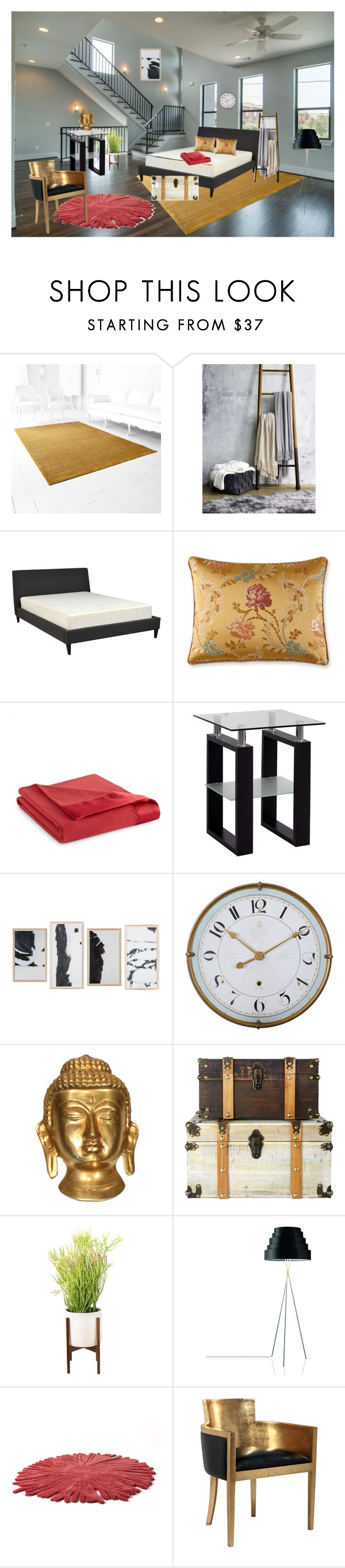 """""""Sin título #251"""" by anyhichins ❤ liked on Polyvore featuring interior, interiors, interior design, home, home decor, interior decorating, Cyan Design, UGG Australia, Waterford and Alouette"""