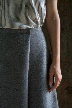 DIY Wool Wrap Skirt - FREE Sewing Pattern and Step-by-Step Tutorial ...
