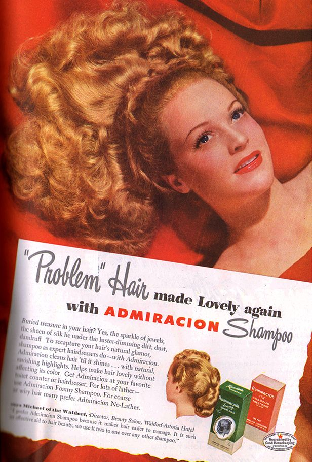 Admiracion Shampoo 1946 Natural hair styles, Clean