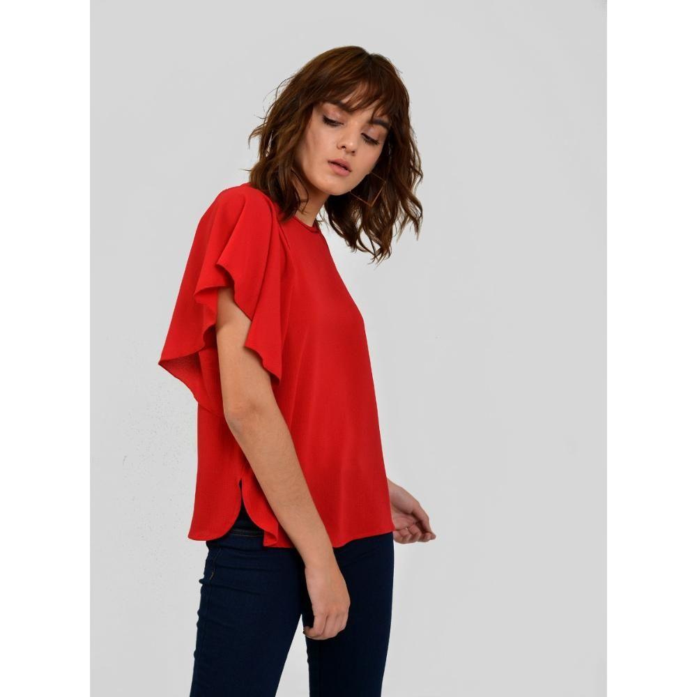 c9410a21aa42d Blusas Manga Corta Mujer – Sólo otra idea de decoración de imagen