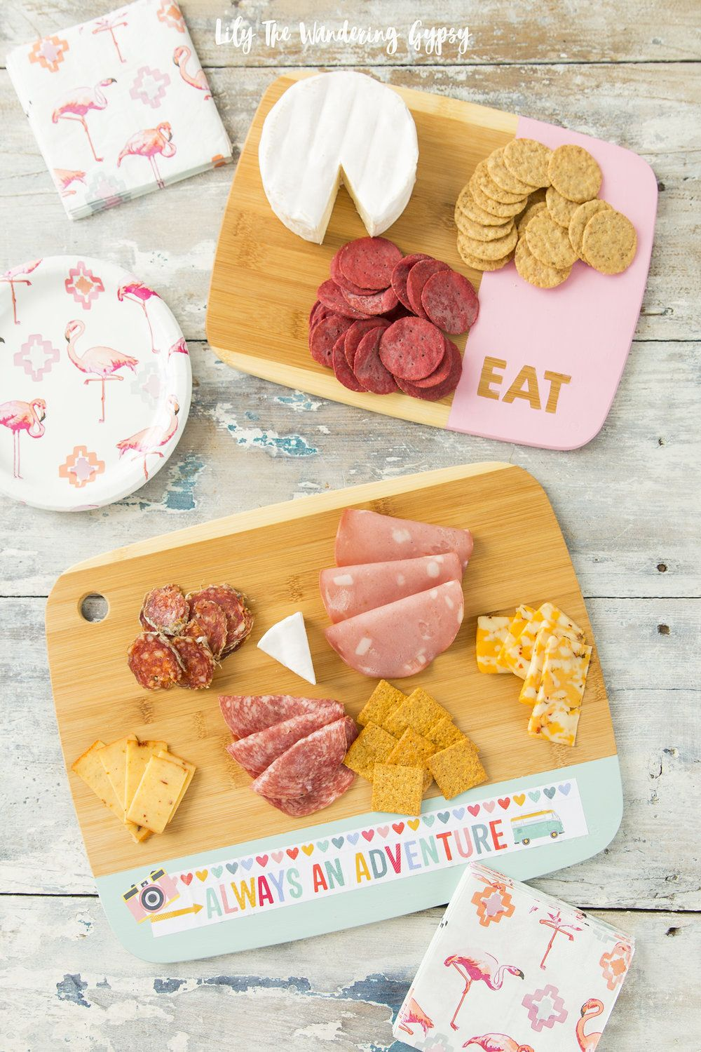 Artsy DIY Cheese Board | Food that Deserves Attention | Pinterest