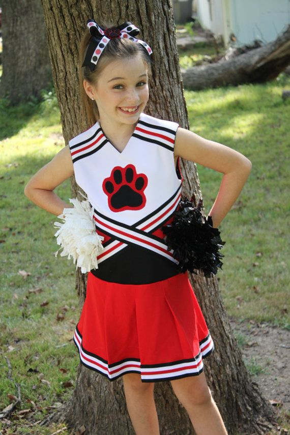 Oh Mickey Cheerleading Uniform PDF Sewing Pattern Sizes 1/2- 12 ...